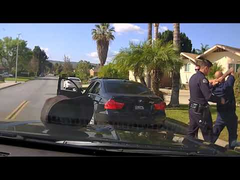 DASH CAM From West Covina Police, What you could not see from inside the car, only shows the ABUSE