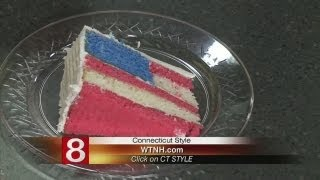 In The Kitchen: Flag Layer Cake