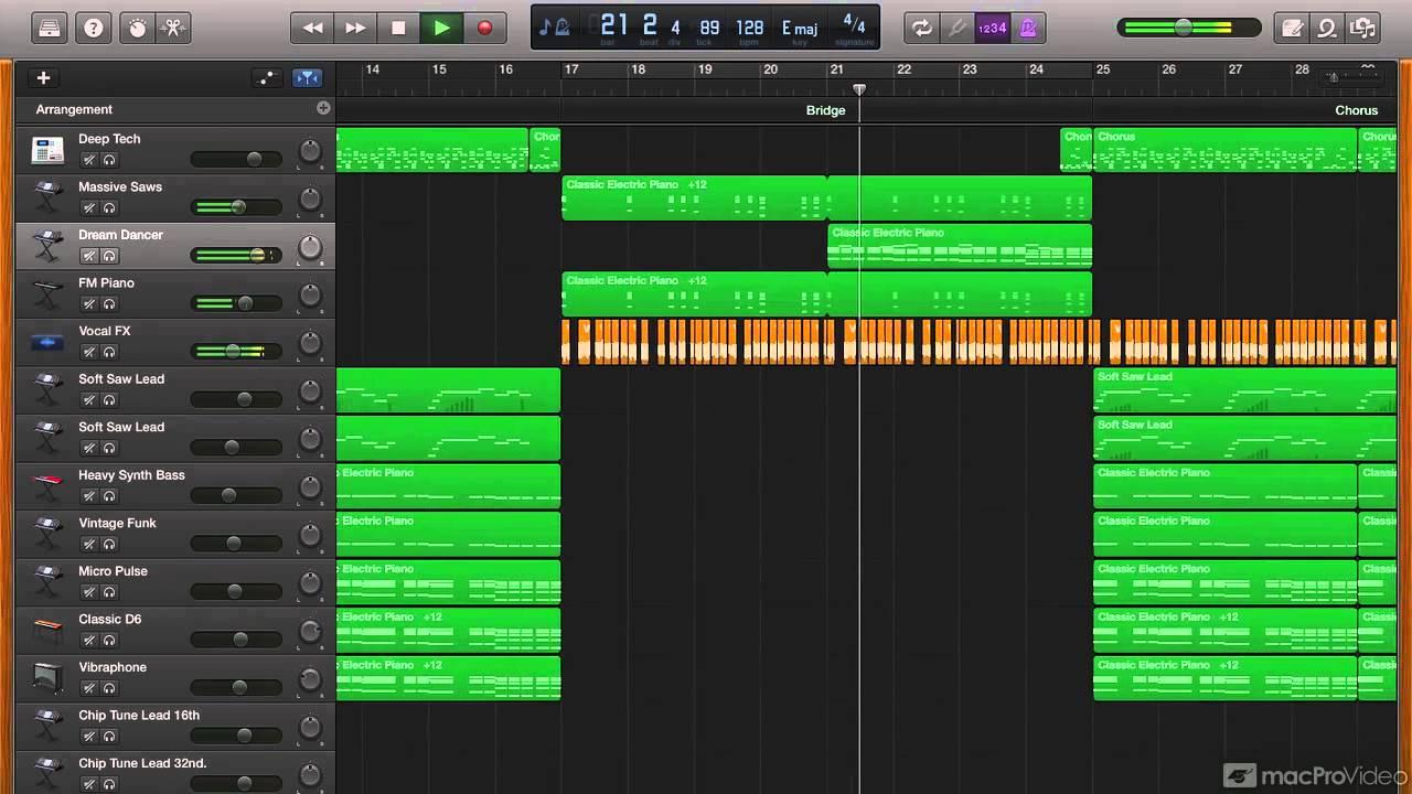 GarageBand 301: Make EDM - 1  Introduction