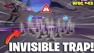INVISIBLE TRAP GLITCH NEAR CORRUPTED AREA! BEST FORTNITE STREAMERS COMPILATION #43!