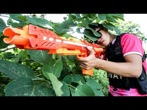Hihahe Nerf Moives: SWAT & Hero Lady vs Warriors Group Nerf Movies