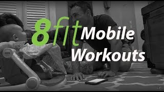 8Fit Mobile Workouts, Meal Plans and Personal Trainer IN ACTION and REVIEW
