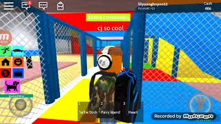 I was cj so cool in roblox