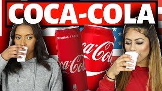 BRITISH VS AMERICAN: COCA-COLA (NEW SHOW)