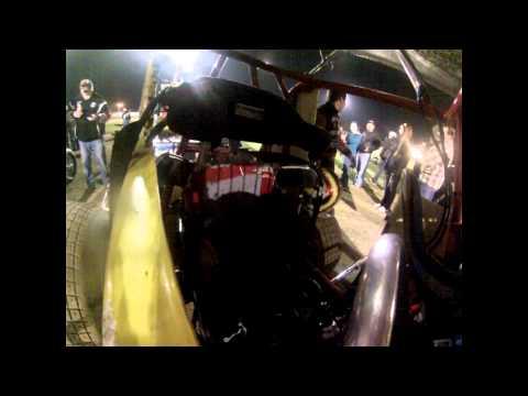 Ocean Speedway Justin Sanders Onboard 10 10 14