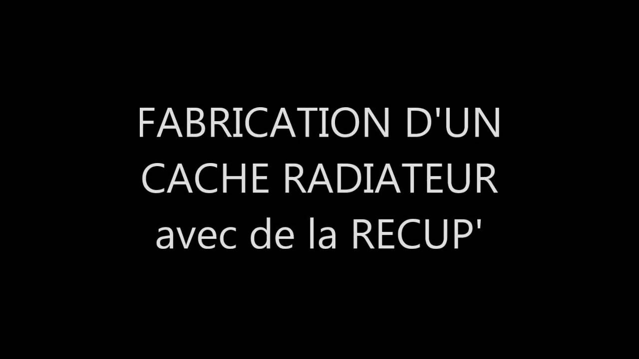 fabrication d 39 un cache radiateur avec de la recup 39 youtube. Black Bedroom Furniture Sets. Home Design Ideas