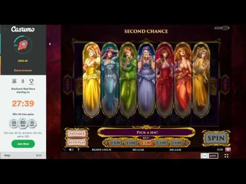 Online Slot Bonus Compilation with The Bandit - Reel King, 7 Sins and More