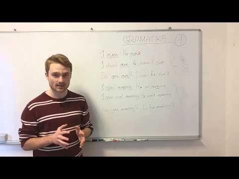 Anglický jazyk - příprava na státní maturitu - přítomný čas prostý a průběhový