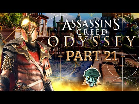"""Assassin's Creed Odyssey Walkthrough - Part 21 """"PHOTIOS'S PRE-TIREMENT"""" (Let's Play)"""
