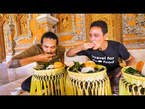 Royal Balinese Food - AMAZING INDONESIAN FOOD at The Palace