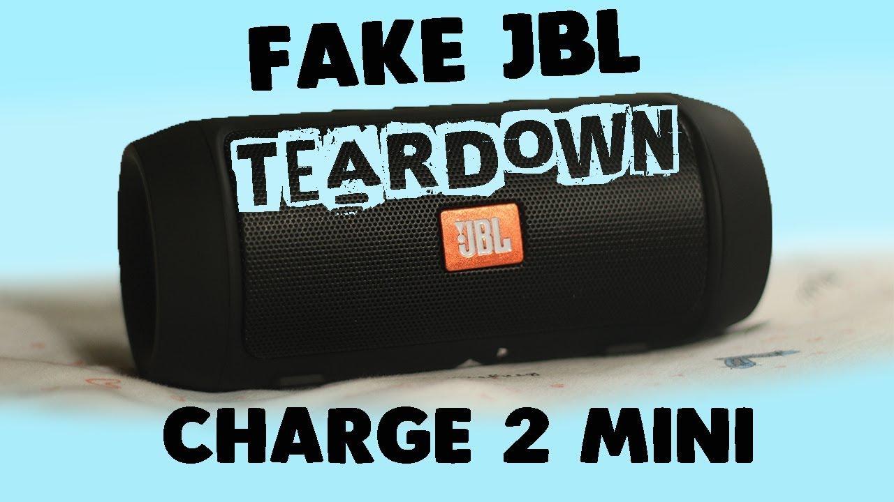 Fake Clone Jbl Charge 2 Mini Teardown Disassembly Youtube