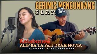 Download lagu MANTAPOO!!! Alip Ba Ta Feat Dyah Novia - Gerimis Mengundang (SLAM) Fingerstyle Cover | Collaboration