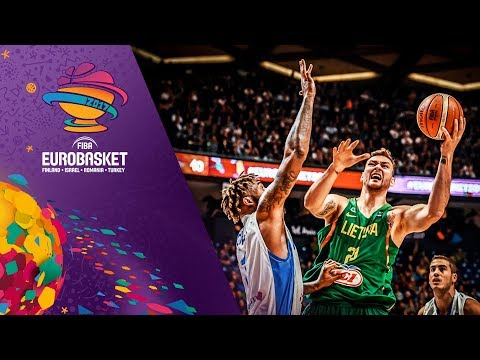 Israel v Lithuania - Full Game - FIBA EuroBasket 2017