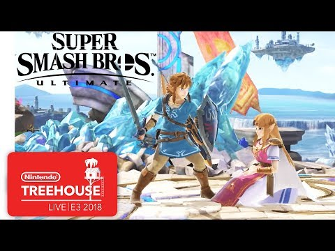 Super Smash Bros. Ultimate Character Gameplay - Nintendo Treehouse: Live | E3 2018 thumbnail