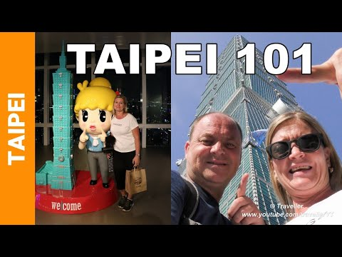 TAIPEI 101 - Once the WORLD´S TALLEST BUILDING inTaipei, Taiwan - Inside Tour of this Skyscraper
