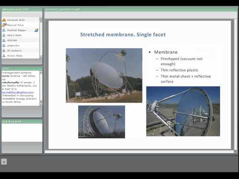 CSP Training course - Lesson 3 : Point Focus Technologies - Dish Stirling and Central Receiver