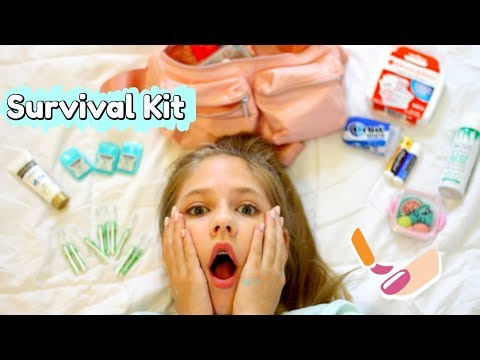 10 Back To School SURViVAL Kit Must Haves!