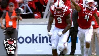 NC State's Germaine Pratt Rips Ball Away In Critical Play vs. BC