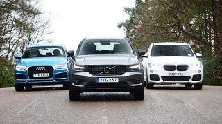 Volvo XC40 vs Audi Q3 vs BMW X1