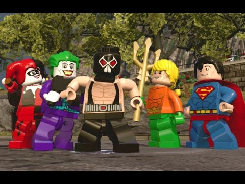LEGO Dimensions - All 8 DC Comics Characters + Free Roam Gameplay (DC Comics Adventure World)