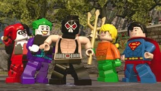 LEGO Dimensions - All 8 DC Comics Characters + Free Roam Gameplay (DC Comics Adventure World)