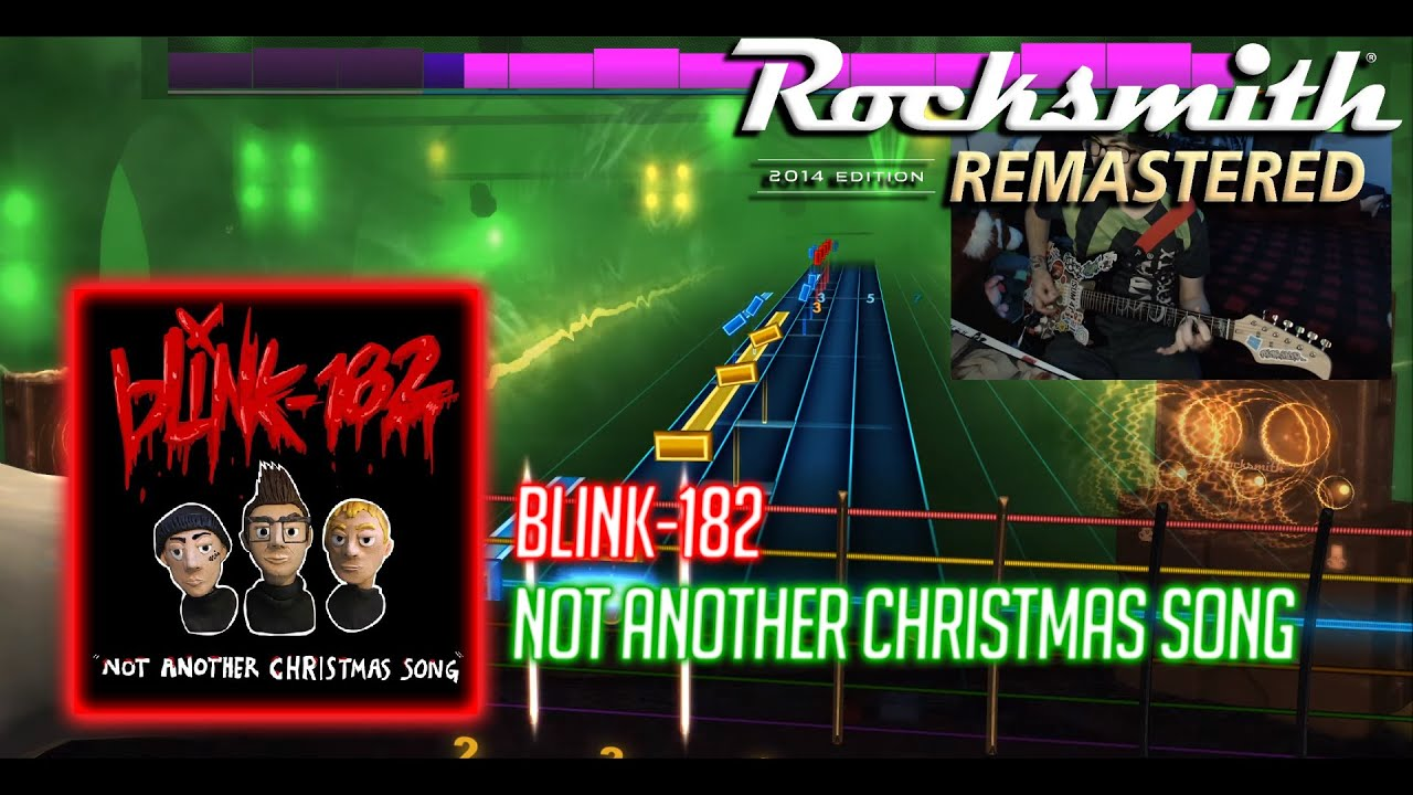 Rocksmith 2014 CDLC blink-182 - Not Another Christmas Song - YouTube