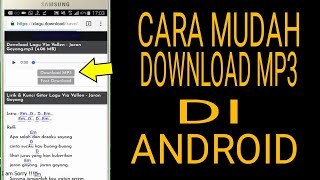cara-mudah-download-mp3-di-android