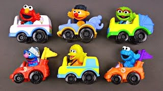 Best Toddler Learning Sesame Street Racers for Kids - New Sesame Street Cars Trucks for Children