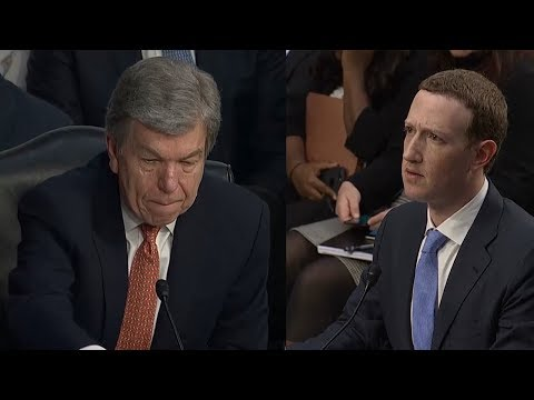 Senator Blunt TALKS OUT OF HIS DEPTH during hearing with Zuckerberg  | EMBARRASES HIMSELF
