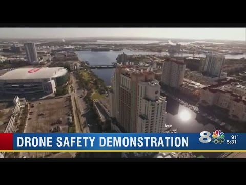 Local drone pilot witnessed reckless flight in downtown Tampa
