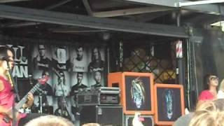 Escape the Fate - The Flood @ Warped Tour 09 in Detroit, MI