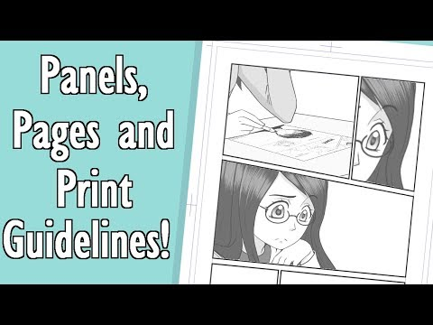 Let's Make a Manga: Panels, Pages and Print Guidelines!