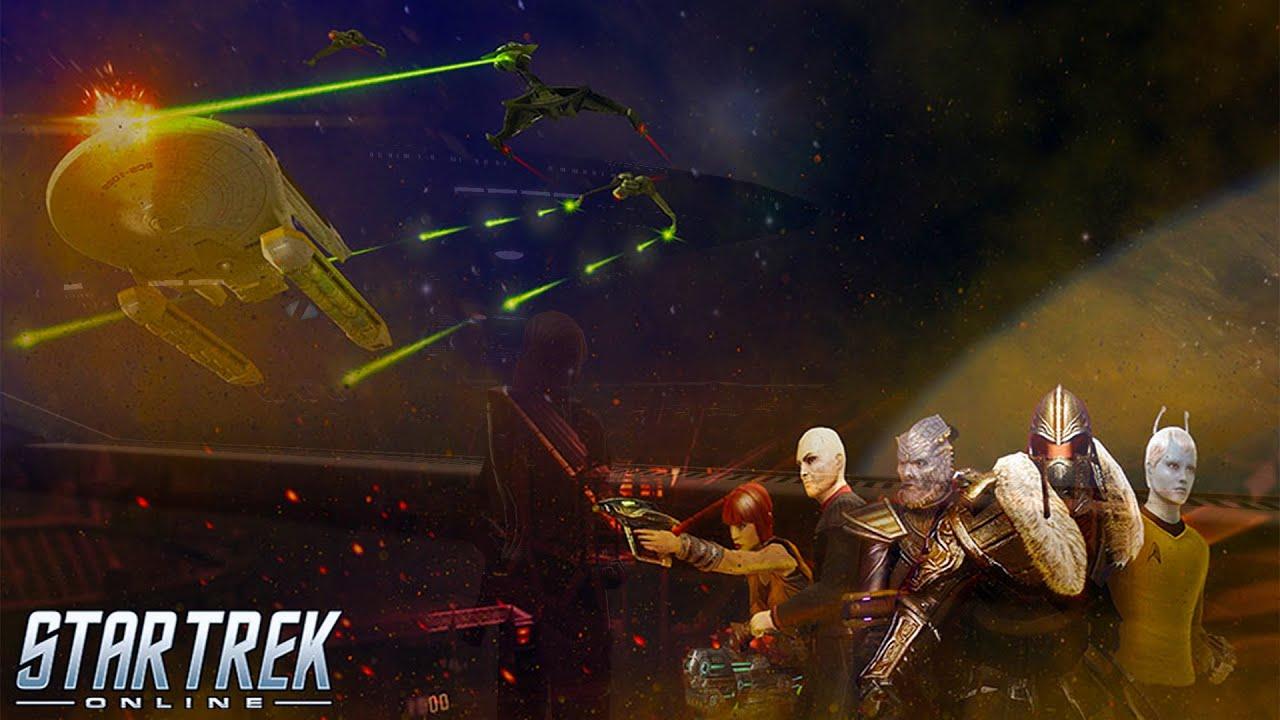 Star Trek Online Gameplay - Event Runs: Kobayashi Maru / Arena of Sompek Dailies Endeavors