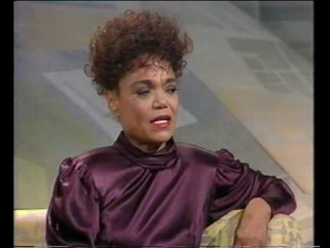 Eartha Kitt - Emotional interview - 'Wogan' interview part 2