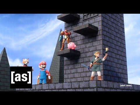 The Smashing Games | Robot Chicken | adult swim