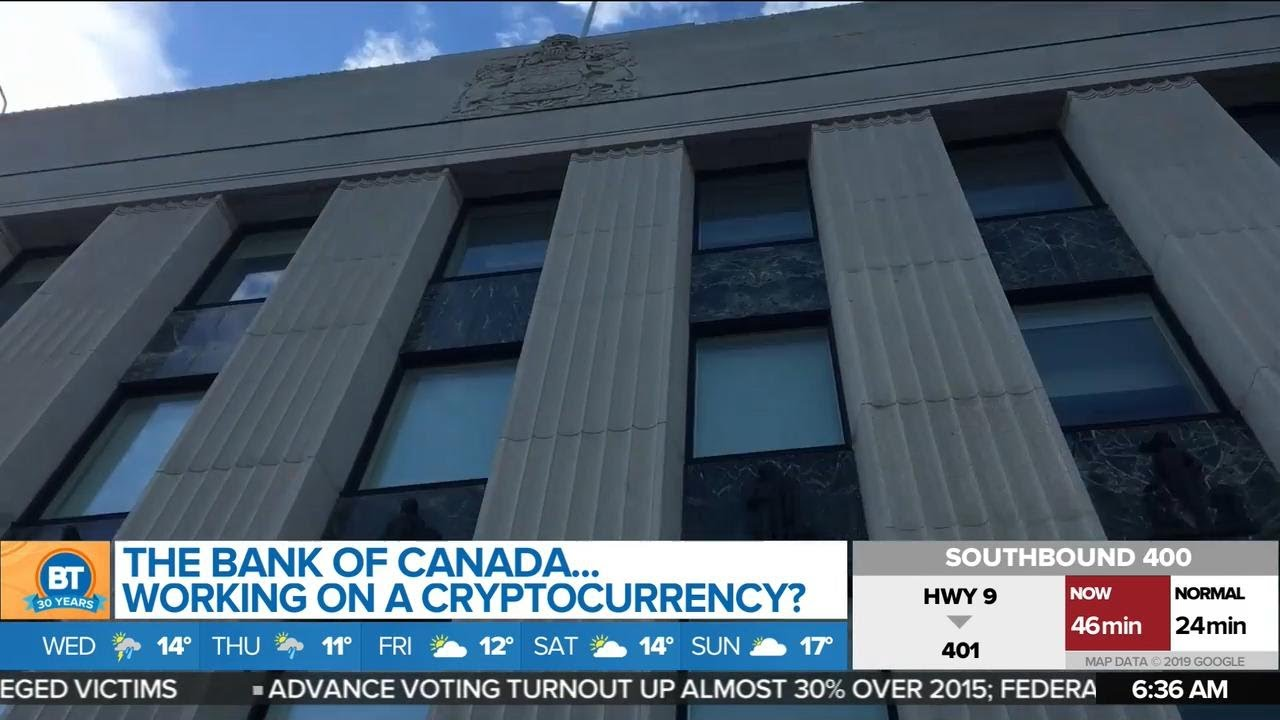 cryptocurrency bank account canada