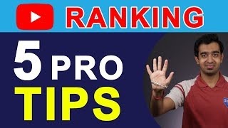 YouTube Pro Tips: How To Rank YouTube Videos To Get 10k Views Easily (2018) | HINDI