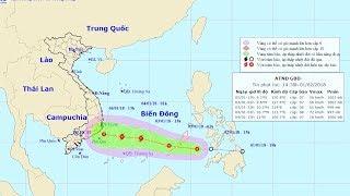 Tin Bão Mới Nhất: Chủ động ứng phó với áp thấp nhiệt đới gần Biển Đông