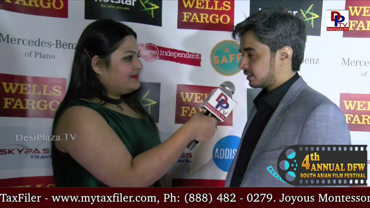 Nishil Sheth, Director for Bhasmasur movie speaks to DesiplazaTV || #DFWSAFF2018 Red Carpet opening