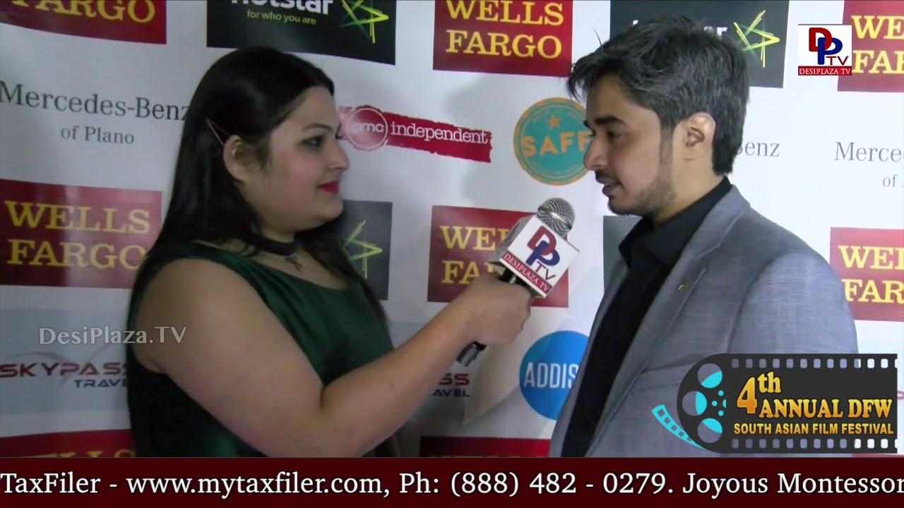 Nishil Sheth, Director for Bhasmasur movie speaks to DesiplazaTV || #DFWSAFF2018 Red Carpet opening