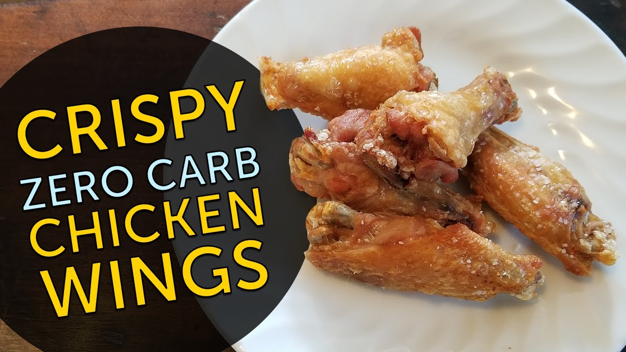 Keto Show: ZERO Carb CRISPY Chicken Wings