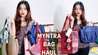 Myntra Bag Haul | Part 1 | Bags Under 1000 | Hand Bags, Shoulder Bags, Sling Bag, Totes & More!