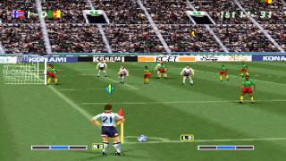 Norway vs Cameroon / Noruega vs Camerún (Winning Eleven 3 Final Ver) [1/2]