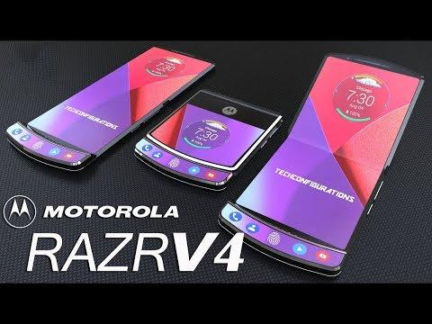 Motorola RAZR V4 с гибким экраном! Голографический смартфон и Xiaomi Mi 8. Итоги блокировки Telegram