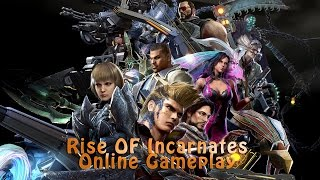 Rise Of Incarnates - All Characters Gameplay
