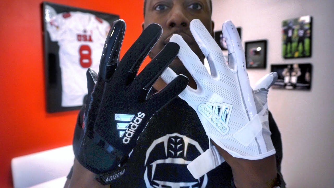 check out 8f294 9bf17 ADIDAS adiZero 6.0 Football Glove REVIEW - Ep. 330