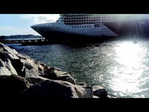 Cruise Ship 🚢 Spotting (St. George Cruise Terminal Grenada 🇬🇩)