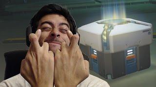 Sem lendária repetida PLEASE! - Overwatch Abrindo caixas!