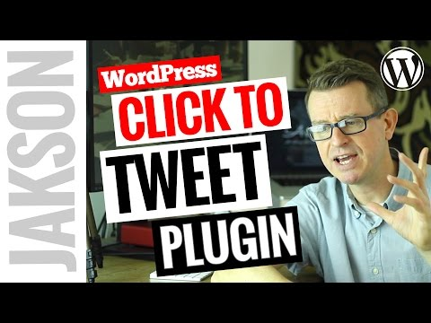 How To Add Click To Tweet to WordPress Tutorial 2017 thumbnail