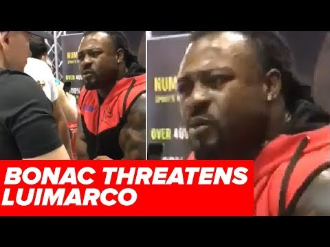 LUIMARCO vs WILLIAM BONAC!  Dave Palumbo on Dubai Altercation